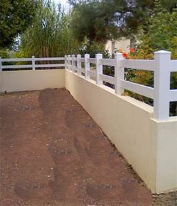 clôture aux pays des olonnes en vendée