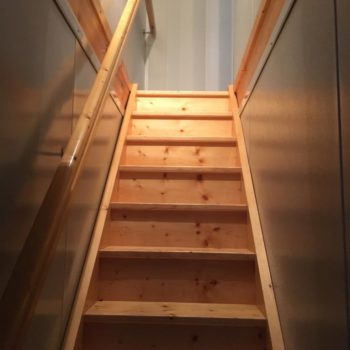escalier bois olonne sur mer