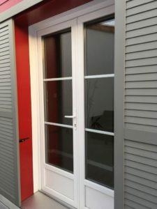 fenêtre pvc volets coulissants