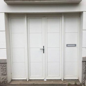 Porte garage à battants en Vendée