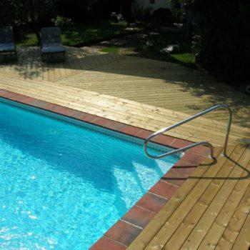 terrasse bois piscine olonne sur mer