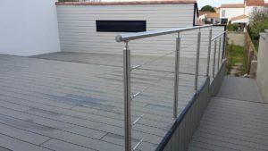 terrasse composite rambarde Olonne