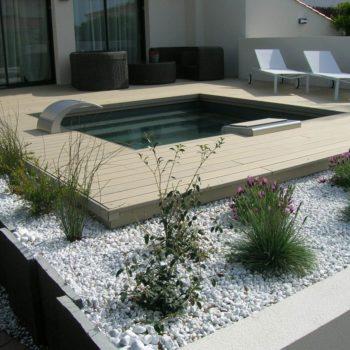Terrasse tour de piscine Vendée