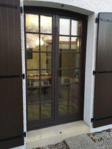 porte fenêtre bois menuiserie xavier dumas aux sables d'olonne